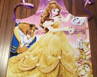 Disney's Belle of Beauty and the Beast Apron AUTISM FUNDRAISER