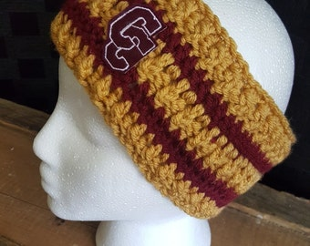 Varsity Letter Ear Warmer - Adult