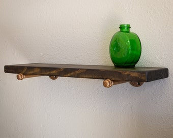 Floating Shelf - Industrial Wall Shelf - Industrial Shelf -  Floating shelf - Industrial Shelving - Wall Shelving - Industrial Chic