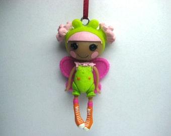 Custom Genuine Mini Lalaloopsy Doll Figure Christmas Tree Ornament c