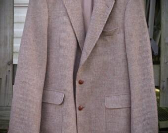 Mens Tweed Jacket / Blazer