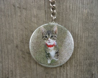 Rescue Kitten Keychain