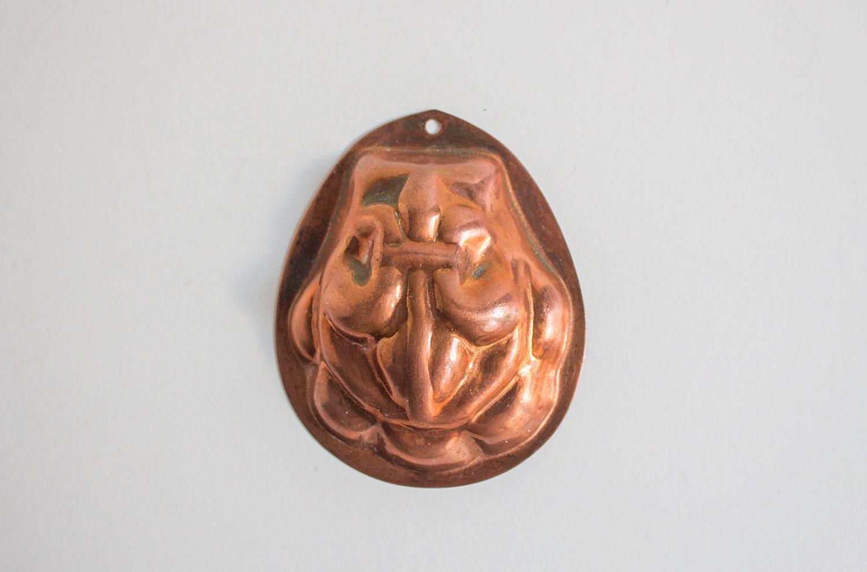 Vintage Copper Jelly Mould