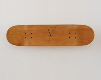 Skateboard Wall Clock Boneless, honey