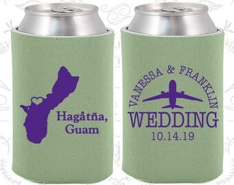 Guam Wedding Ideas, Coolies, Destination Favors, Guam Gifts, Guam Wedding, Hagatna Gifts, Travel Gift (179)