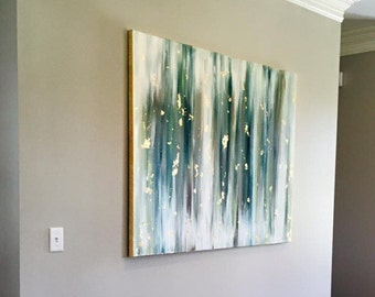 3ft x 4ft canvas with gold trim