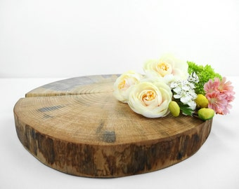 "10"" Cake Stand,Wedding Cake Stand,Wood Slice Cake Stand, Wood Cake Stand, Tree Stump,Centerpiece,Wedding Decor, Tree cake Stand,Seasonal,S12"