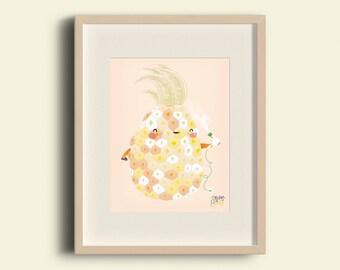 Presumed pineapple