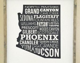 Wood Sign  |  Hand Made  |  Somewhere, Arizona  |  Inspiration