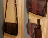 Leather purse - hand stiched