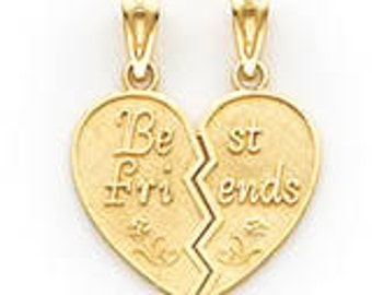 Best Friends Break-Apart Pendant (JC-050)