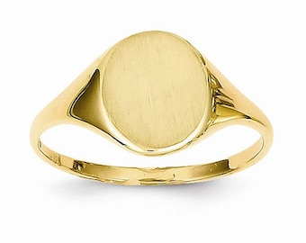 Circular Signet Ring (JC-1094)
