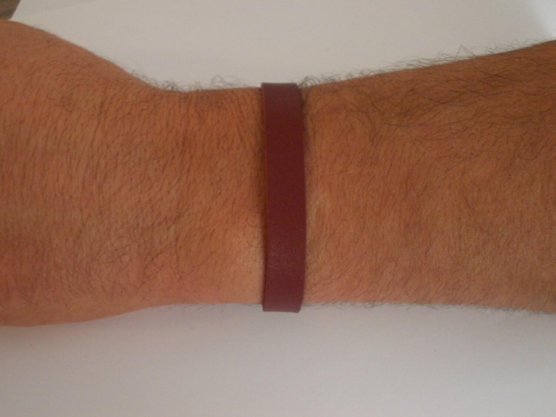 armband leder mann geschenke f r m nner rotes von julesetjade. Black Bedroom Furniture Sets. Home Design Ideas