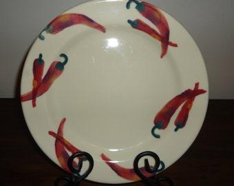 Hartstone Chili Pepper Plate