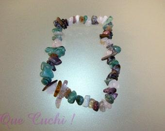 Baroque stone elastic bracelet varied choice