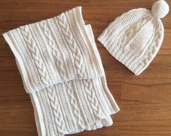 Alpaca Wool Winter Set