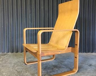 Thonet Sled Base Arm Chair