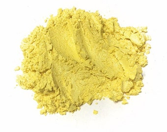 LEMON DROP Mineral Eye Shadow - Natural Makeup - Gluten Free Vegan Face Color