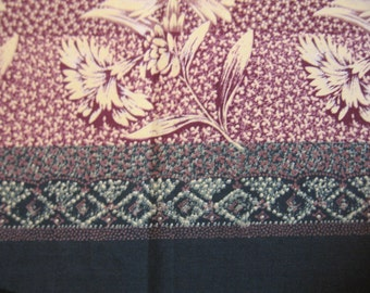 1-1/3 Yards Border Print Fabric by Hale Fabrics Inc