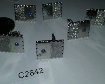 Vintage Cuff links 1980's old stock c2642