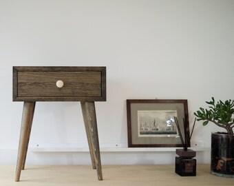 Bedside table Modern Furniture Nightstand Wood table Scandinavian Style Mid Century furniture Bedroom furniture ALD-0002B