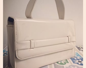 Vintage 1960's Patent Kelly Bag by Chamelle