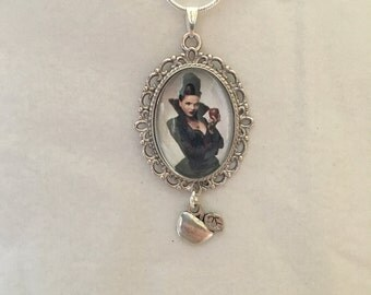 Regina Evil Queen Once Upon A Time Pendant Necklace