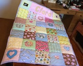 """Pet,Baby,home Quilt (Large) 40"""" X 50"""" nursery, Christmas ,shabby chic"""