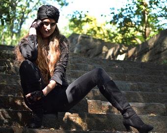 Leather Turban