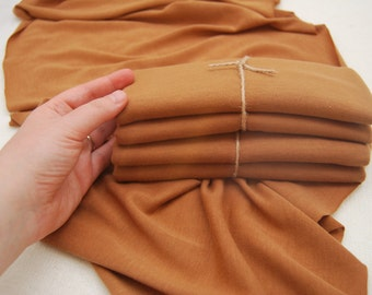 Baby Wrap Prop; Stretch Fabric Wrap; Newborn Cotton Wrap; Knit Fabric Wrap; Golden Brown; Newborn Photo Prop