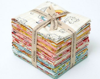 """Farm Girl Fat Quarter Bundle by October Afternoon for Riley Blake, 21 - 18"""" x 22"""" cuts"""