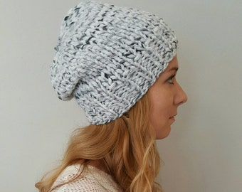 Knit Hat - Baxter Hat - Marble
