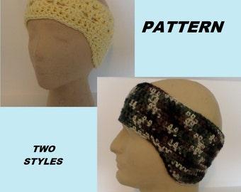 PATTERN Ear Warmer with Earflaps