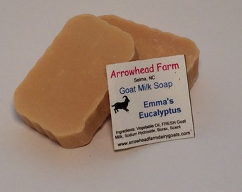 Handmade Goats Milk Soap, Lotties Lavender and Cedar
