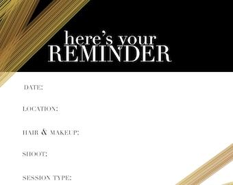 Streak session reminder card