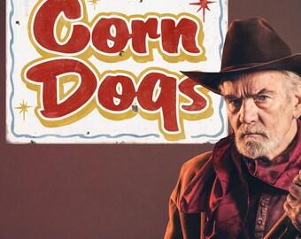 Corn Dogs Carnival Food Wall Decal - #59412