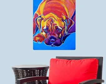 Sahara Boxer Dog Wall Decal - #59941