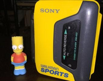 Sony SPORTS WM-A53 Auto Reverse Vintage Retro Walkman Cassette Tape Player // Analog Digital vibes kush vaporwave