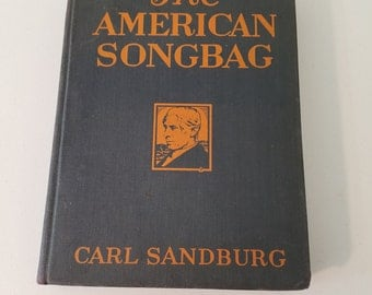 The American Songbag - by Carl Sandburg - First Edition 1927    #37