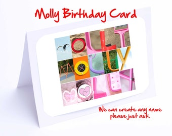 Molly Personalised Birthday Card