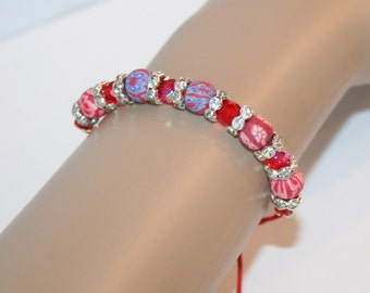 Bracelet with edelweiss