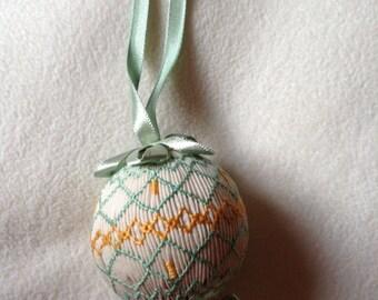 Smocked ornament | Etsy