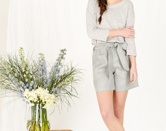 SALE!! Womens summer linen shorts
