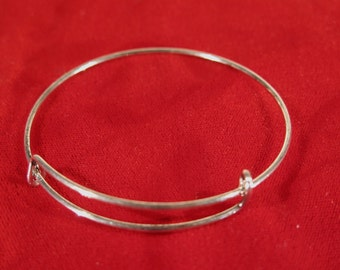 BULK! 15pc antique style silver bangle bracelet (JC103B)