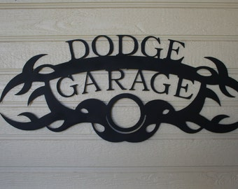 Dodge garage metal sign...Dodge