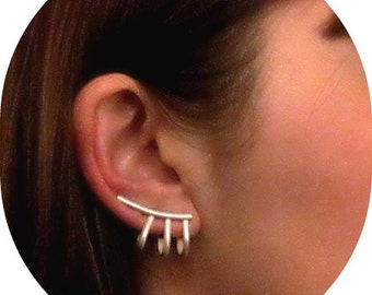 Ear Cuff, Ear Climber, Ear Cuffs, Ear Crawler, Ear Cuff Earrings, Ear Sweep, Ear pin
