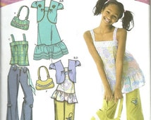 On Sale Simplicity  4208    Girls/Plus Dress, Tunic or Top, Bolero, Pants and Bag   Size 8 1/2- 16 1/2