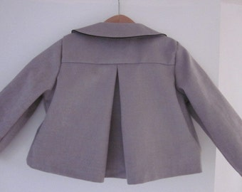 Pattern sewing jacket LISON 8-10-12 years