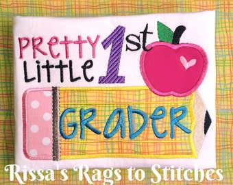 Back to School Shirts, Pretty Little 1st-6th Grader