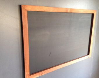 "24"" x 36"" Rustic Framed Chalkboard, Rustic Wedding Chalkboard, Kitchen Menu, Menu Board, Rustic Frame"